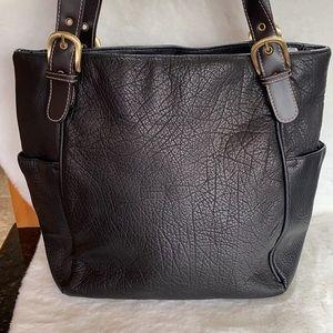 Great American Leatherworks Black Bucket EUC